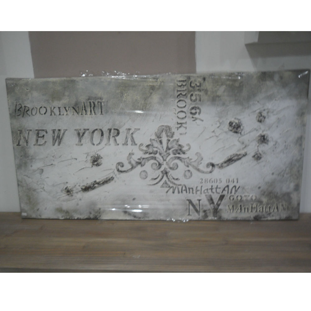 Quadro Shabby Chic New York